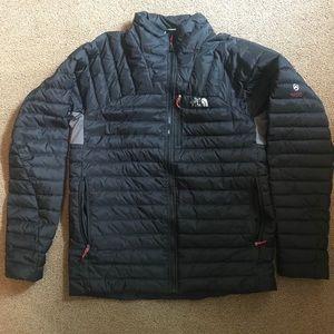 North Face Jacket - Black/Grey- Medium
